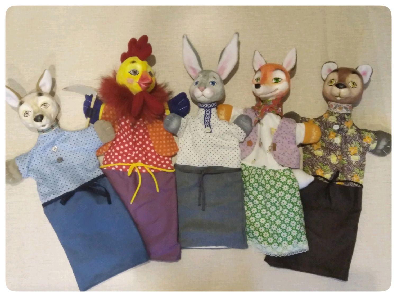 """Кукольный театр.Перчаточные куклы"""" Заюшкина избушка"""", Кукольный театр, Орел,  Фото №1"""