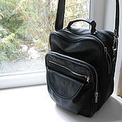 Сумки и аксессуары handmade. Livemaster - original item Men`s business leather bag. Handmade.