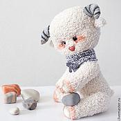 Куклы и игрушки ручной работы. Ярмарка Мастеров - ручная работа Барашек Бубенчик. Handmade.