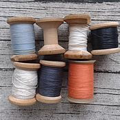 Винтаж ручной работы. Ярмарка Мастеров - ручная работа Катушки ниток набор №6 Винтаж. Handmade.