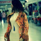 """Одежда ручной работы. Ярмарка Мастеров - ручная работа Пальто валяное """"Пора любви"""". Handmade."""