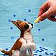Год Собаки ручной работы. Заказать Чихуахуа, войлочная скульптурная собака. Романова Юлия (September Bears). Ярмарка Мастеров. Собачка