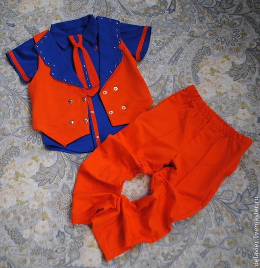 """Одежда для мальчиков, ручной работы. Ярмарка Мастеров - ручная работа. Купить Комплект  для мальчика """"Элвис"""". Handmade. Стиляги, костюм для малыша"""