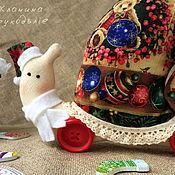 Куклы и игрушки ручной работы. Ярмарка Мастеров - ручная работа Тильды улитки рождественские (игольницы). Handmade.