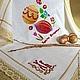 """Текстиль, ковры ручной работы. Ярмарка Мастеров - ручная работа. Купить Салфетка Пасхальная """"Светлая Пасха"""". Handmade. Пасха"""