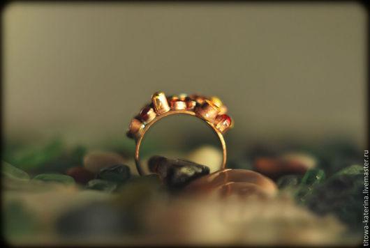 Кольца ручной работы. Ярмарка Мастеров - ручная работа. Купить кольцо Кораллы розовые. Handmade. Коралловый, медное украшение