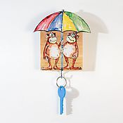 Для дома и интерьера handmade. Livemaster - original item The housekeeper is a wall-mounted