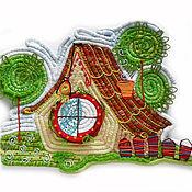 Для дома и интерьера ручной работы. Ярмарка Мастеров - ручная работа Сказочный домик-2. Handmade.