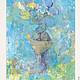 """Фантазийные сюжеты ручной работы. Ярмарка Мастеров - ручная работа. Купить Картинка акрилом """"Цветные сны """". Handmade. Картина"""