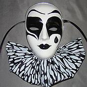 Для дома и интерьера ручной работы. Ярмарка Мастеров - ручная работа Пьеро (маска-декор). Handmade.