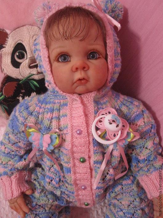 Куклы-младенцы и reborn ручной работы. Ярмарка Мастеров - ручная работа. Купить Куколка реборн Ариша.. Handmade. Разноцветный, акрил