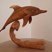 Поделка из дерева своими руками дельфин