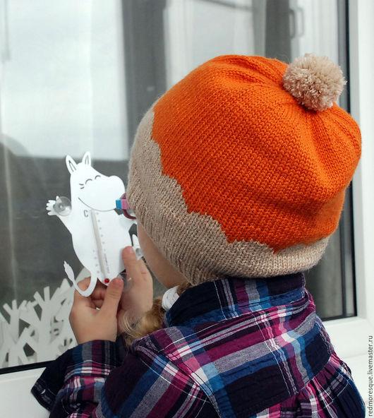 """Шапки ручной работы. Ярмарка Мастеров - ручная работа. Купить Шапка """"Scallops"""". Handmade. Шапка, шапка с помпоном, аксессуары для детей"""