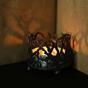 Для дома и интерьера ручной работы. Ярмарка Мастеров - ручная работа Halloween подсвечник. Handmade.