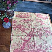 handmade. Livemaster - original item Tual de Jouy fabric, cotton, France. Handmade.