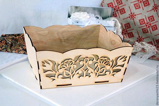 """Кухня ручной работы. Ярмарка Мастеров - ручная работа. Купить Лукошко большое, из серии """"Хозяюшка"""". Handmade. Бежевый, лукошко для кухни"""