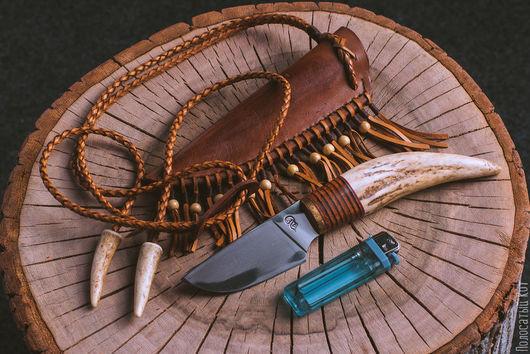 Подарки для мужчин, ручной работы. Ярмарка Мастеров - ручная работа. Купить Ловец снов. Handmade. Нож ручной работы, шх15