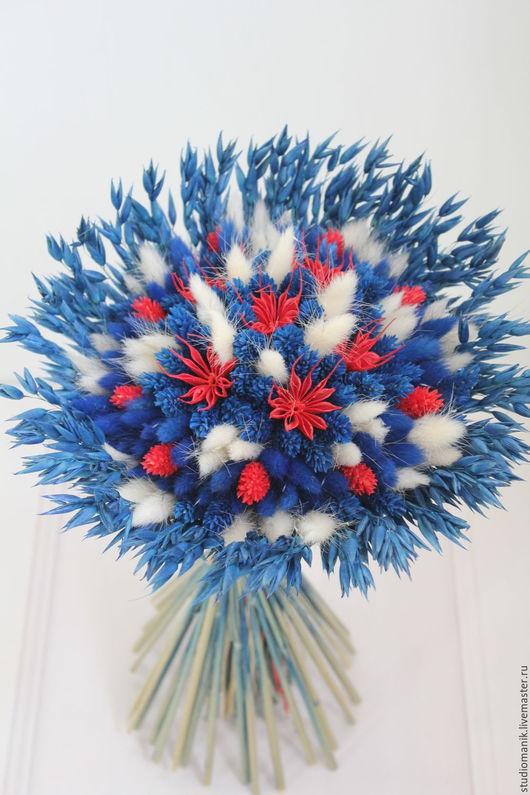 Букеты ручной работы. Ярмарка Мастеров - ручная работа. Купить Букет из сухоцветов. Handmade. Разноцветный, букет, композиция для интерьера