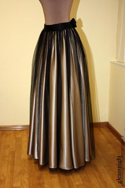 Длинная юбка с блузкой доставка