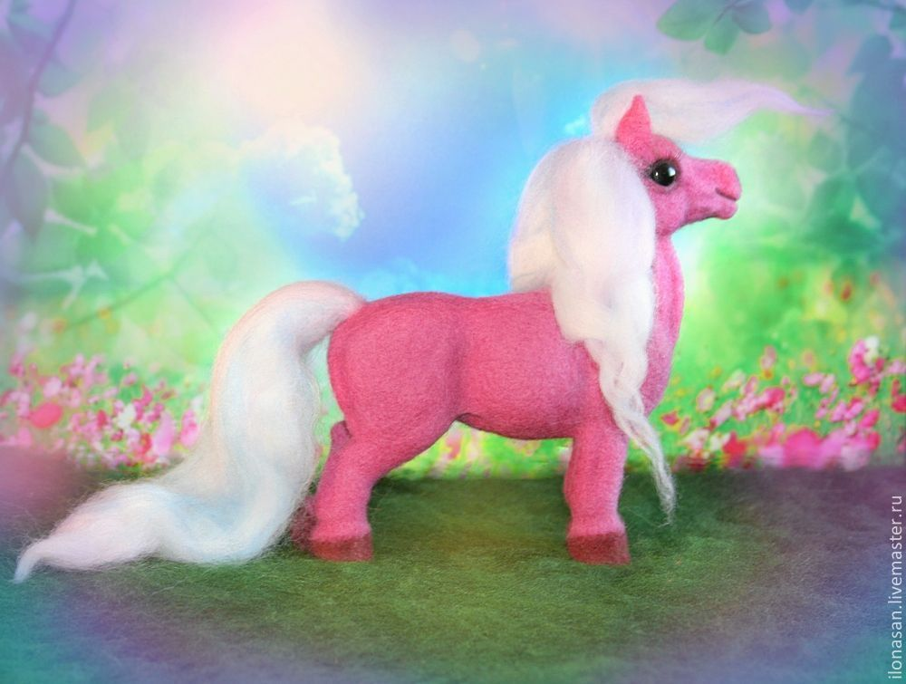 Гламурная лошадка Поночка, Мягкие игрушки, Владивосток,  Фото №1