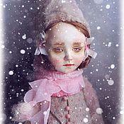 Куклы и игрушки ручной работы. Ярмарка Мастеров - ручная работа тедди-доллочка Оленька. Handmade.