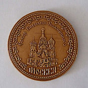 Сувениры и подарки handmade. Livemaster - original item Magnets made of birch bark