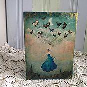 """Для дома и интерьера ручной работы. Ярмарка Мастеров - ручная работа Фотобокс """" Волшебные сны"""". Handmade."""