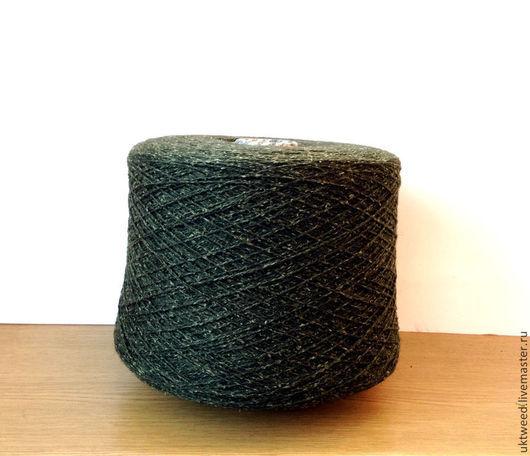 Вязание ручной работы. Ярмарка Мастеров - ручная работа. Купить Самарканд - 25% - шелк  75% шерсть,. Handmade. Зеленый