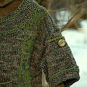 Одежда ручной работы. Ярмарка Мастеров - ручная работа Джемпер Дом ящерки. Handmade.