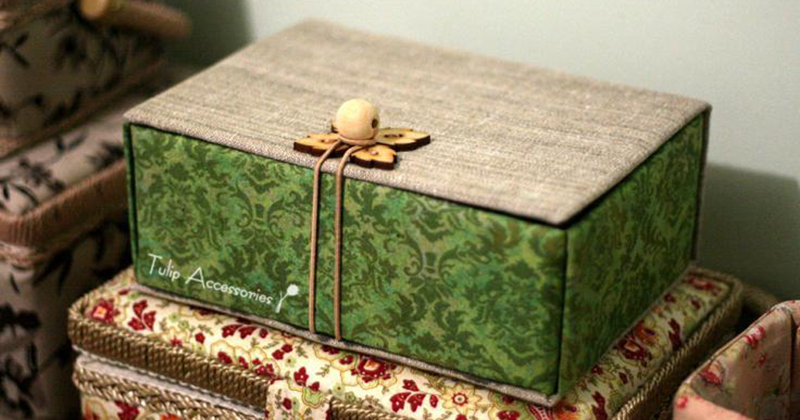 Шкатулка из картона своими руками видео