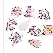 Куклы и игрушки ручной работы. Ярмарка Мастеров - ручная работа Деревянные элементы ДЕВОЧКА. Handmade.