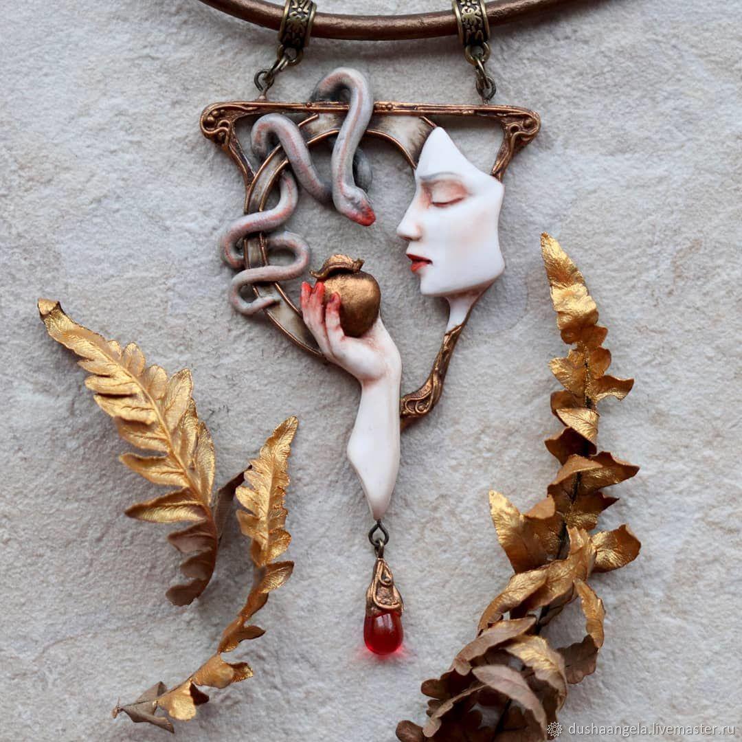 ' Eva ' art Nouveau, art Nouveau, Necklace, Vladimir,  Фото №1