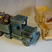Куклы и игрушки ручной работы. Ярмарка Мастеров - ручная работа Грузовой ретро-автомобиль. Handmade.