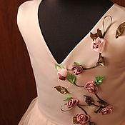 Платье ручной работы. Ярмарка Мастеров - ручная работа Платье для девочки 7-8 лет. Handmade.