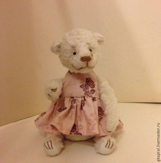 Мишки Тедди ручной работы. Ярмарка Мастеров - ручная работа. Купить тедди мишка Леся. Handmade. Тедди, куклы и игрушки
