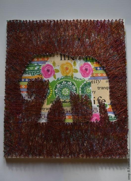 Животные ручной работы. Ярмарка Мастеров - ручная работа. Купить Джамбо.. Handmade. Разноцветный, африканские мотивы, Для мам и малышей