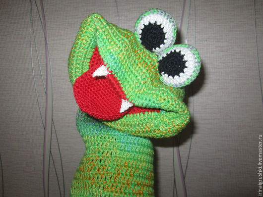 Развивающие игрушки ручной работы. Ярмарка Мастеров - ручная работа. Купить Змейка логопедическая. Handmade. Разноцветный, развитие речи, хлопок