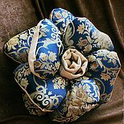 Для дома и интерьера ручной работы. Ярмарка Мастеров - ручная работа Подушка-цветок декоративная. Handmade.
