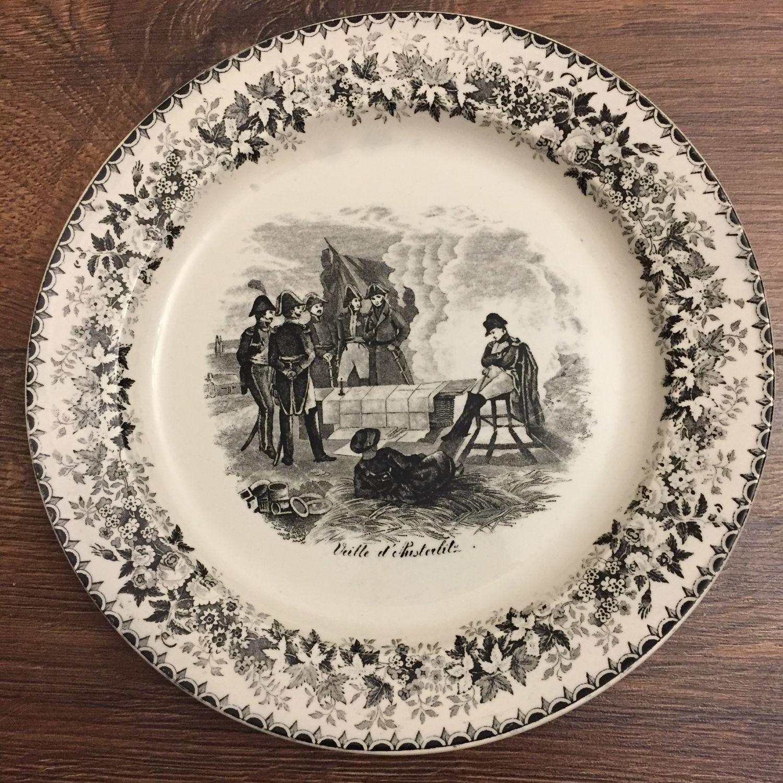 Plate sarreguemines Napoleon, Vintage plates, Kaliningrad,  Фото №1