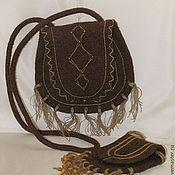 Сумки и аксессуары ручной работы. Ярмарка Мастеров - ручная работа ЭТНО сумка, с сумочкой для ключей. Handmade.