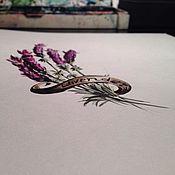 Картины и панно ручной работы. Ярмарка Мастеров - ручная работа Лаванда. Handmade.