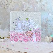 Канцелярские товары handmade. Livemaster - original item Photo album Our baby. Handmade.