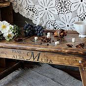 Для дома и интерьера handmade. Livemaster - original item Tray table Italian country style