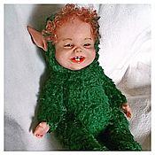 Куклы и игрушки handmade. Livemaster - original item Doll from polymer clay. Teddy $. Wood elf. Handmade.