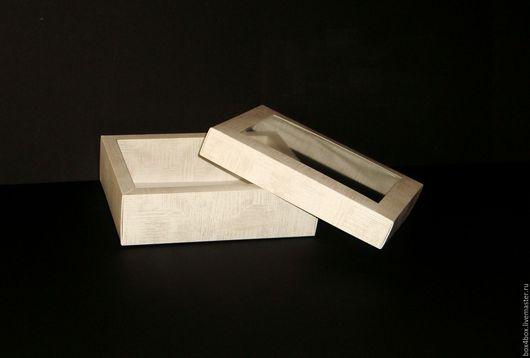 Упаковка ручной работы. Ярмарка Мастеров - ручная работа. Купить Коробки с пластиковым окошком. Handmade. Белый, упаковка для подарка