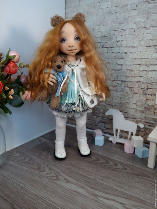 Коллекционные куклы ручной работы. Ярмарка Мастеров - ручная работа. Купить Авторская интерьерная кукла.. Handmade. Комбинированный, авторская кукла
