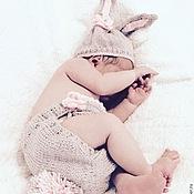 """Комплекты одежды ручной работы. Ярмарка Мастеров - ручная работа Комплект для новорожденного """"Зайчик"""". Handmade."""