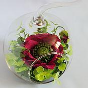 Цветы и флористика ручной работы. Ярмарка Мастеров - ручная работа Маки в стекле. Handmade.