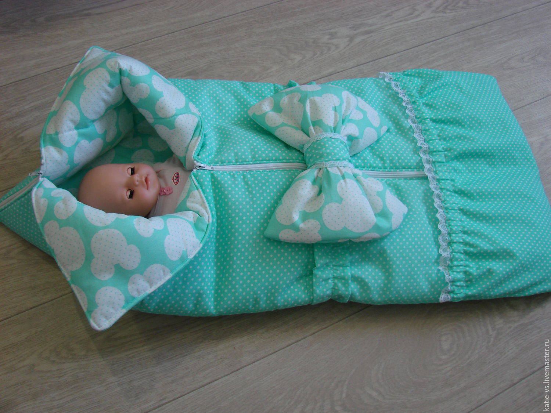 Одеяло новорожденной своими руками 671