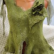 """Одежда ручной работы. Ярмарка Мастеров - ручная работа Туника """"В оливковой роще."""". Handmade."""